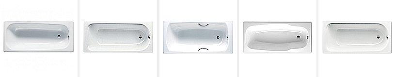 Рейтинг лучших стальных ванн