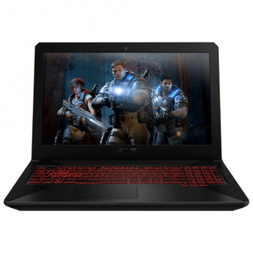 "ASUS TUF Gaming FX504GD (Intel Core i5 8300H 2300 MHz/15.6""/1920x1080/12GB/1000GB HDD/DVD нет/NVIDIA GeForce GTX 1050/Wi-Fi/Bluetooth/Без ОС)"