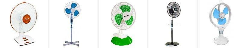 Рейтинг лучших бытовых вентиляторов