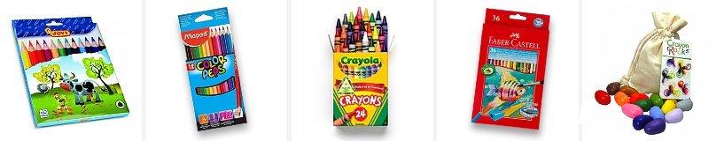 Рейтинг лучших цветных карандашей