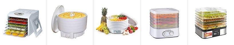 Рейтинг лучших сушилок овощей, фруктов и грибов (дегидраторов)