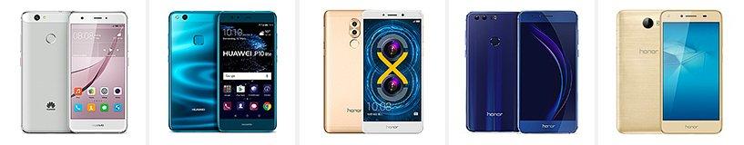 Рейтинг лучших смартфонов Huawei