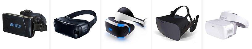 Рейтинг лучших очков и шлемов виртуальной реальности