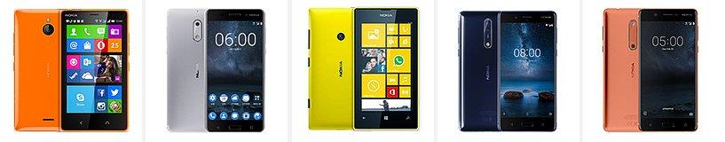 Рейтинг лучших смартфонов Nokia