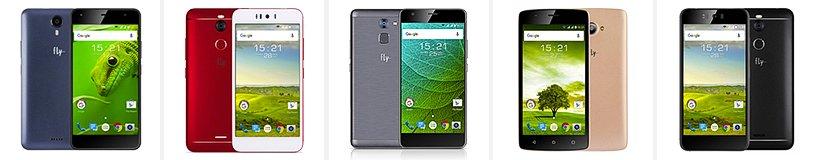 Рейтинг лучших смартфонов Fly