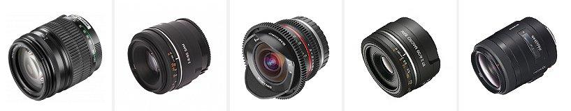 Рейтинг лучших объективов для фотокамер Sony