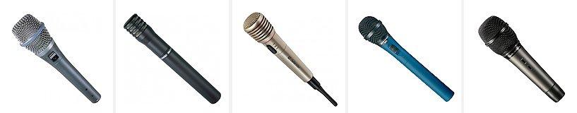 Рейтинг лучших микрофонов