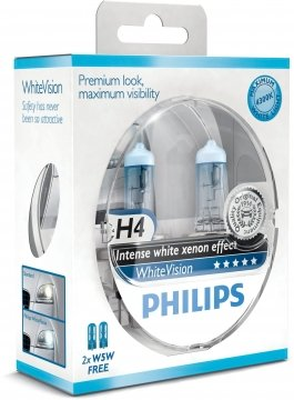 Philips H4 WhiteVision 4300К