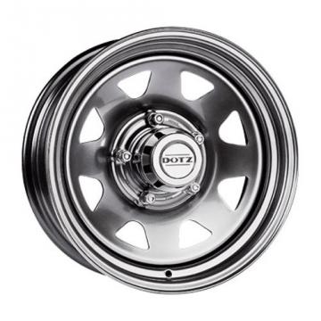 Dotz Dakar 7x15/6x139.7 D110 ET12 Silver